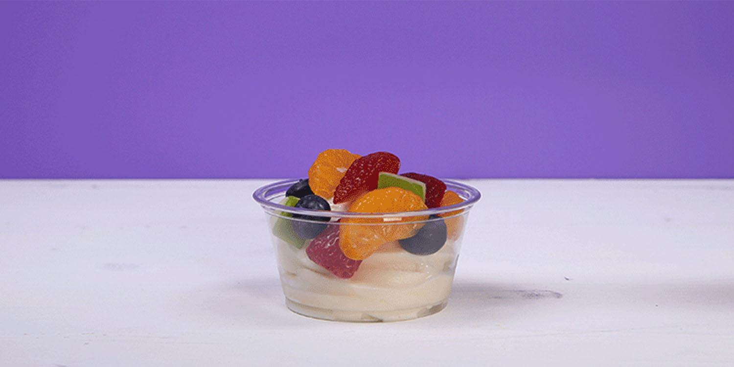 Icedream fruit cup